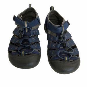 Keen Water Fisherman Shoes Sandals Blue 4 Big Kid